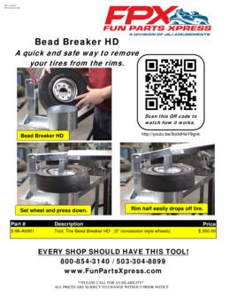 Tire Bead Breaker