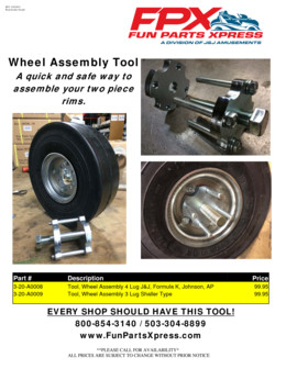 Wheel Assembly Tool