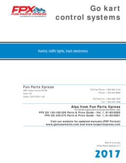 Go kart Control Systems Kartrol
