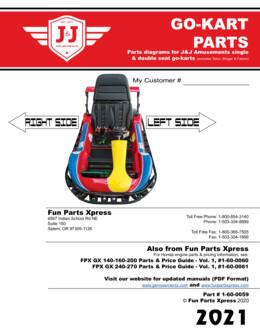Parts Book – Go-Kart 2021